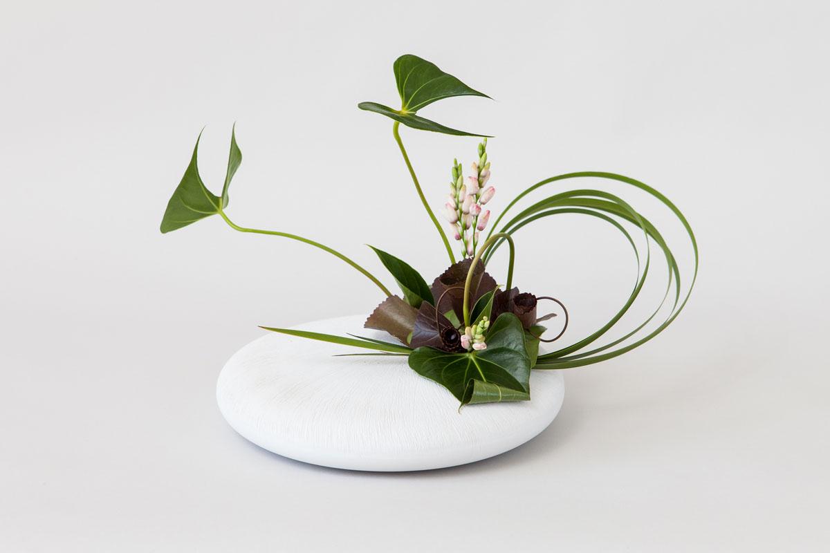 composition florale rumiko style