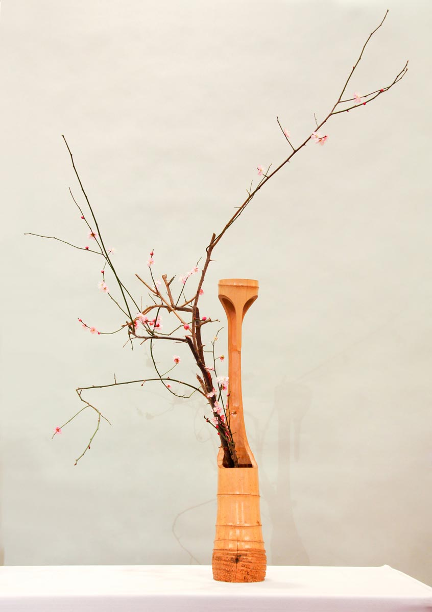 composition florale ikebana