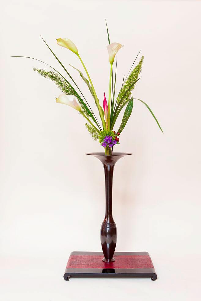 composition florale rikka shimputai