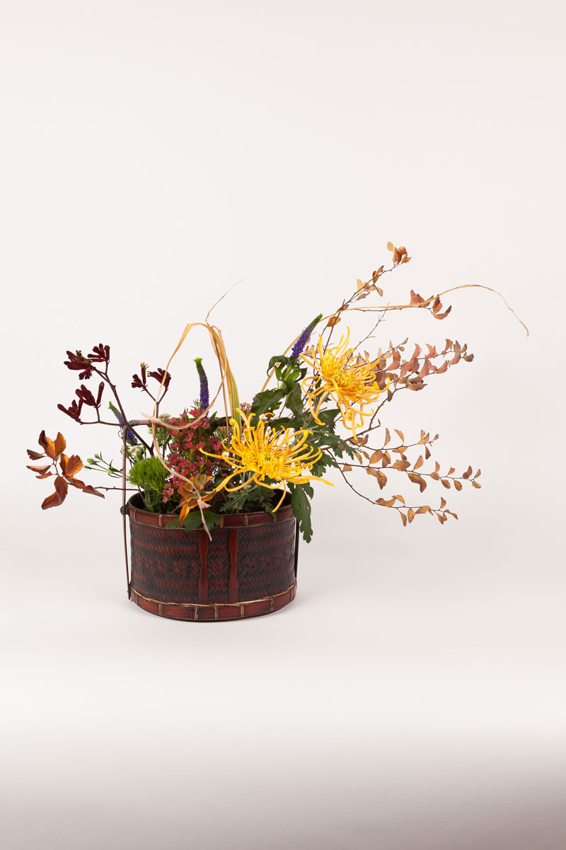 composition florale jiyuka