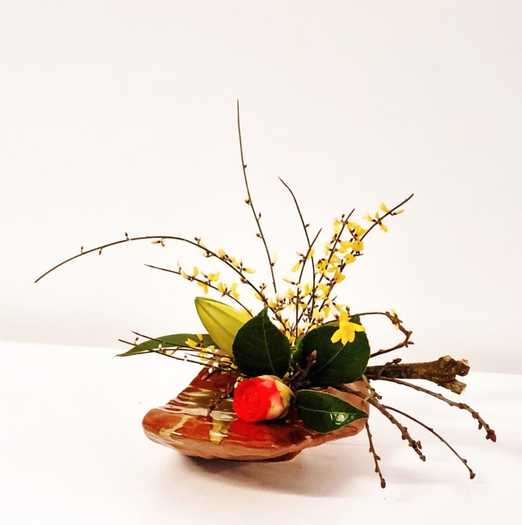 Yvelyne RREBEYROTTE : Ikebana Jiyuka